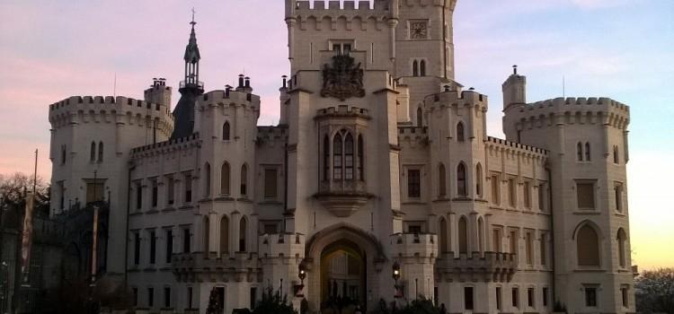 Замок Глубока над Влтавой и Чешский Крумлов