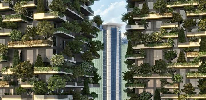 Вдохновляет. Зеленая архитектура